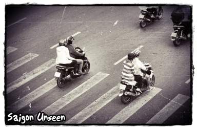 traffic - saigon unseen